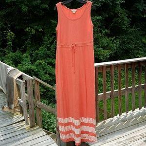 Natural Reflections Tie Dye Maxi Dress